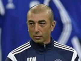 Roberto Di Matteo hopes to get Schalke's Champions League campaign up and running
